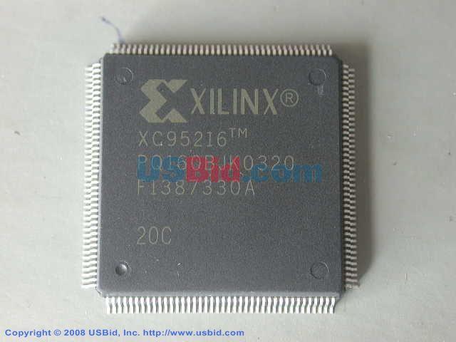 XC95216-20PQ160C photos