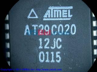 AT29C020-12JC photos