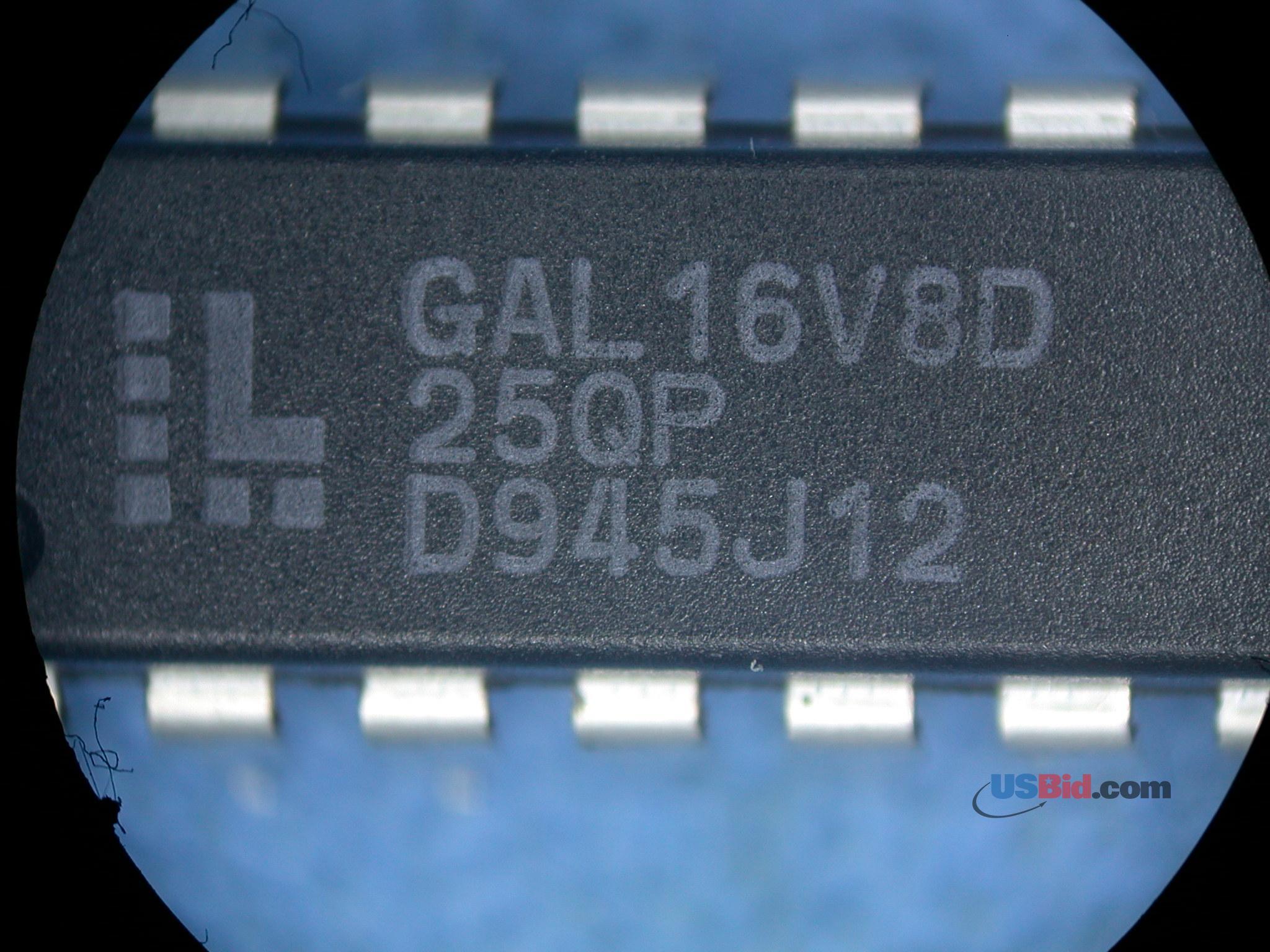 GAL16V8D-25QP photos