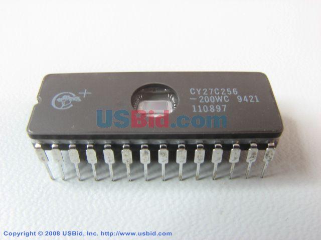 CY27C256-200WC photos