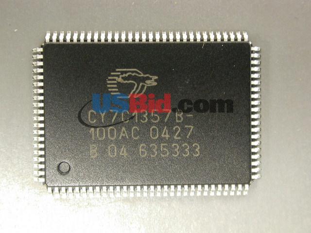 CY7C1357B100AC
