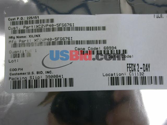 XC2VP40-5FG676I photos