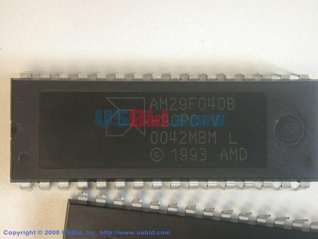AM29F040B-90PC photos