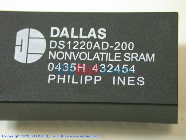 DS1220AD-200 photos