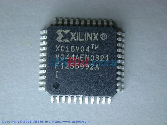 XC18V04VQ44I photos
