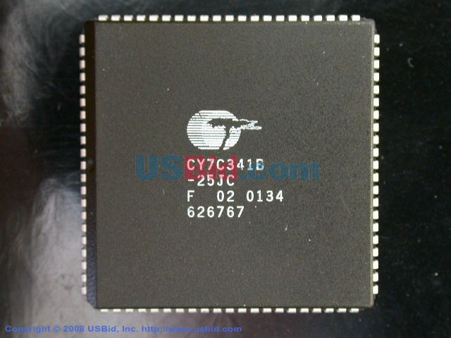 CY7C341B-25JC photos