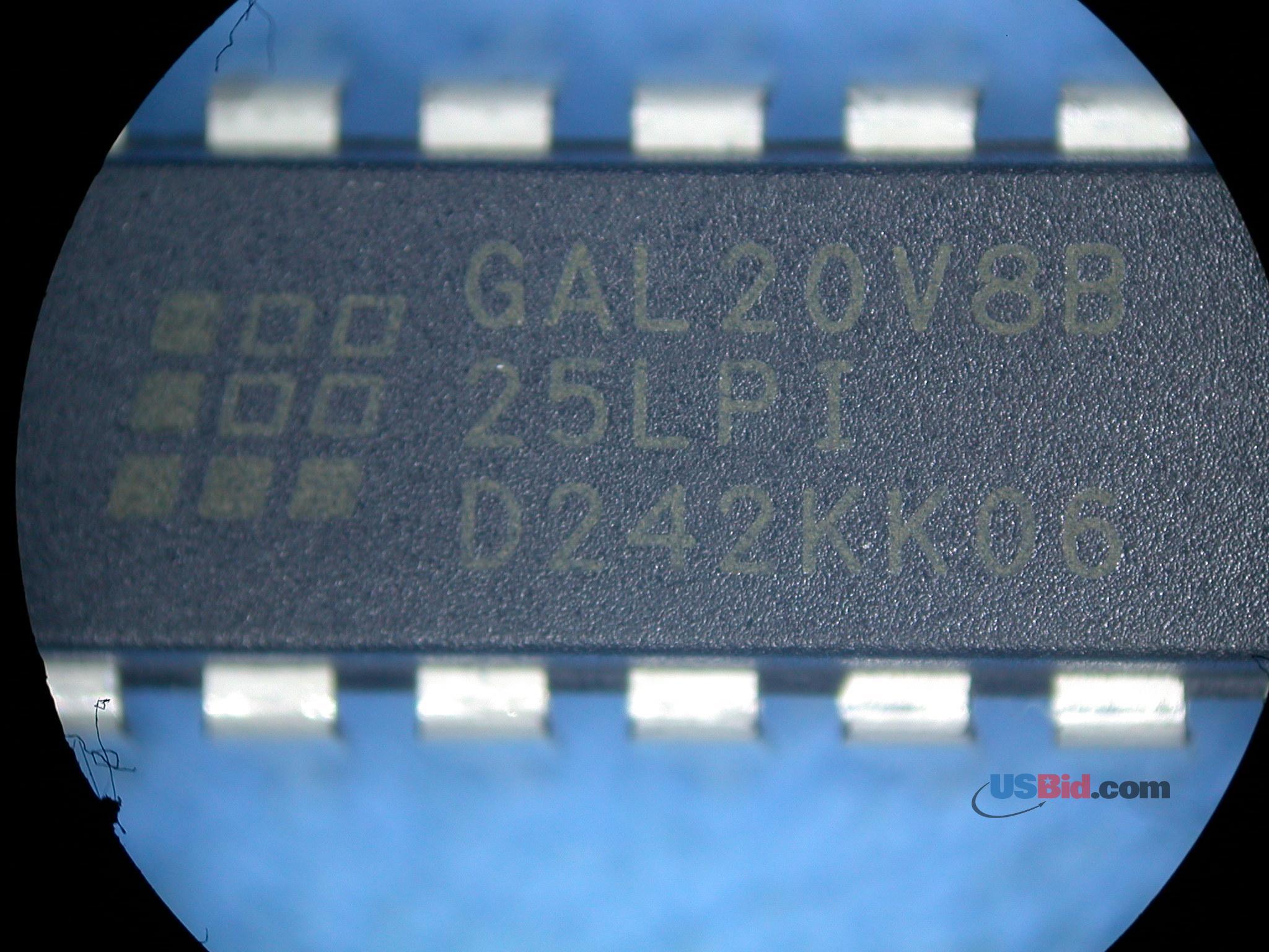 GAL20V8B-25LPI photos