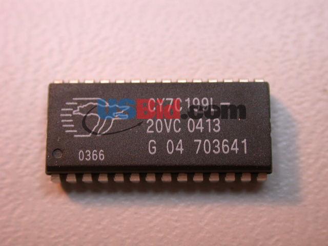 CY7C199L-20VC photos