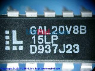 GAL20V8B-15LP photos