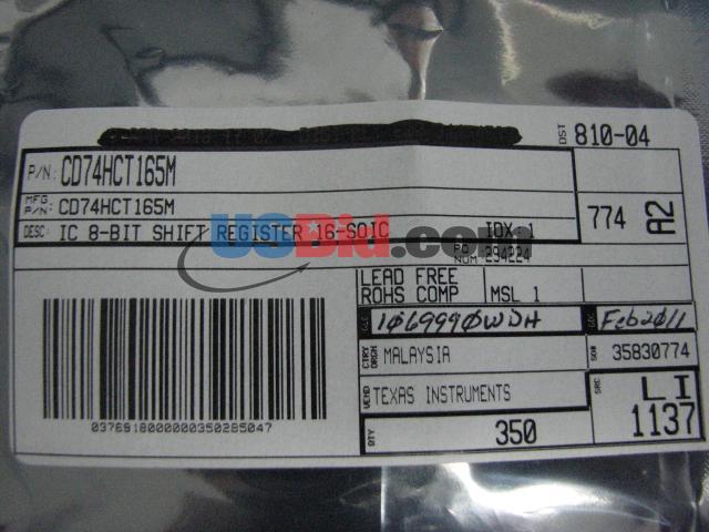CD74HCT165M photos