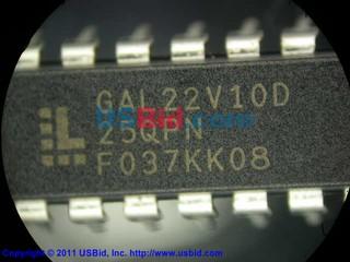 GAL22V10D-25QPN photos