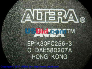 EP1K30FC256-3 photos