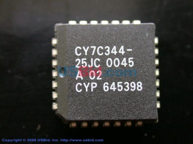 CY7C344-25JC