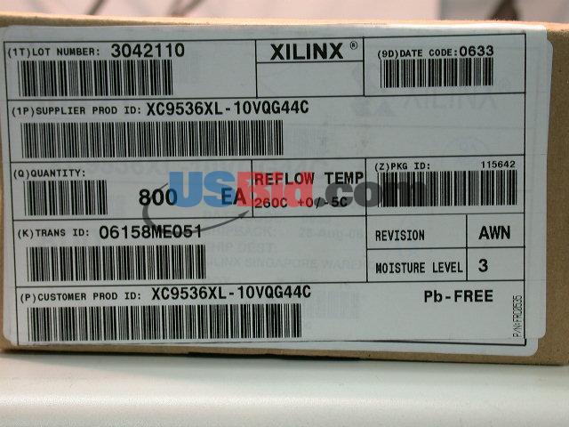 XC9536XL-10VQG44C photos