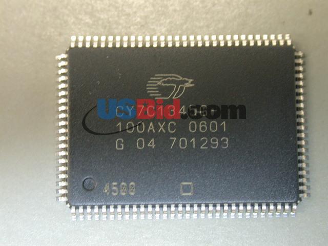 CY7C1345G100AXC