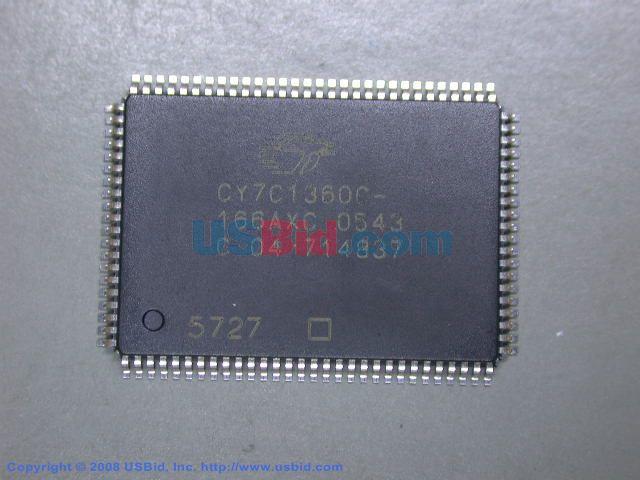 CY7C1360C166AXC photos
