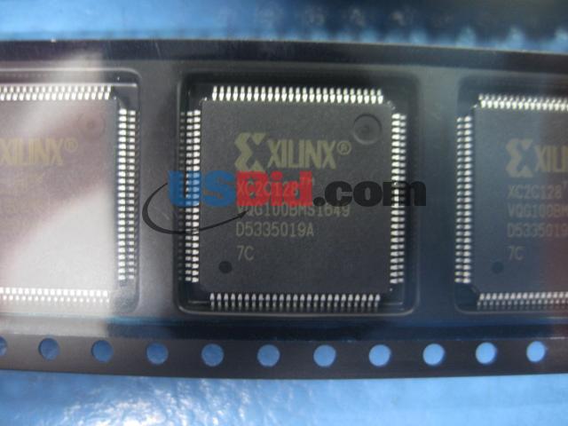 XC2C128-7VQG100C photos