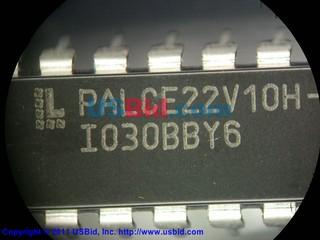 PALCE22V10H-25PC-4 photos