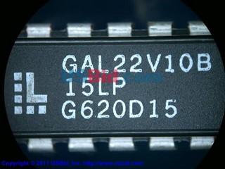GAL22V10B-15LP photos