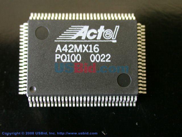 A42MX16-PQ100 photos
