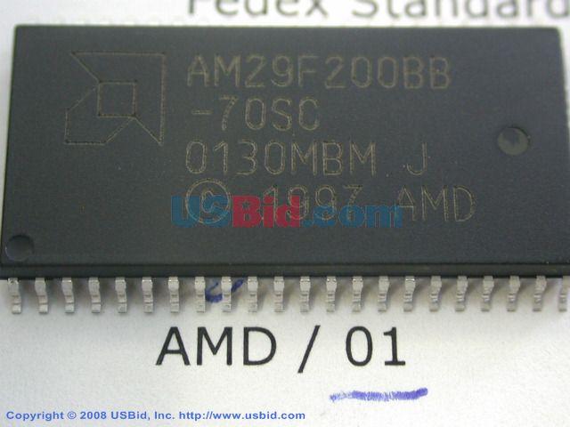 AM29F200BB-70SC photos
