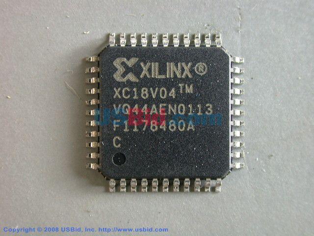 XC18V04VQ44C photos