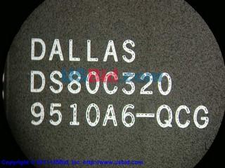 DS80C320 photos