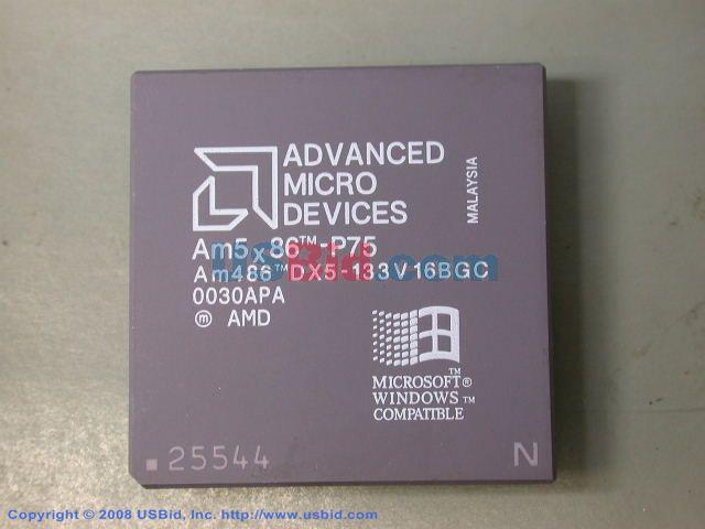 AM486DX5-133V16BGC photos