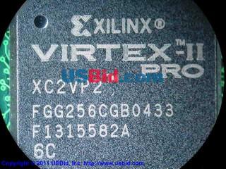 XC2VP2-6FGG256C photos
