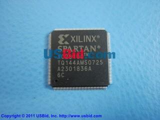 XC2S100-6TQ144C photos