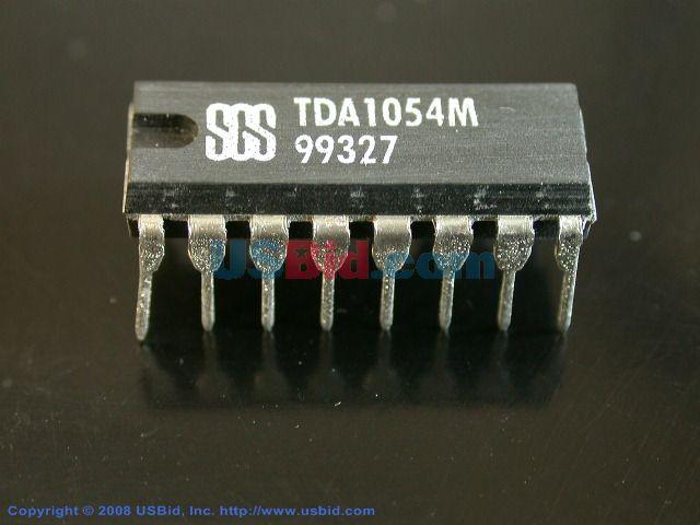 Datasheet) tda1054m pdf linear integrated circuit preamplifier.