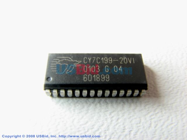 CY7C199-20VI photos