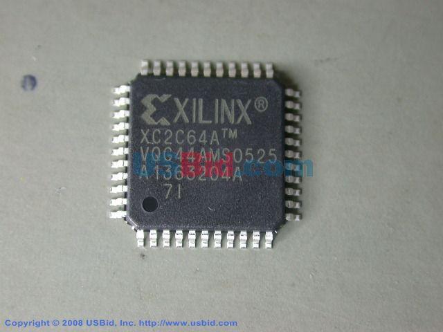XC2C64A-7VQG44I photos