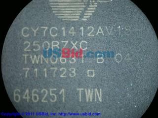 CY7C1412AV18-250BZXC photos
