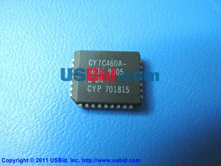 CY7C460A-10JC photos