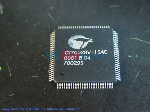 CY7C028V-15AC photos