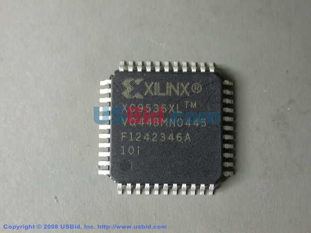 XC9536XL-10VQ44I photos
