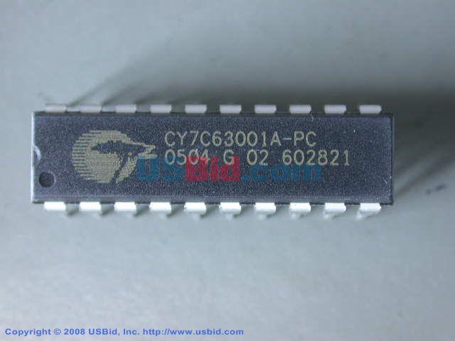 CY7C63001APC photos
