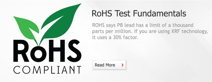 XRF - RoHS Test Fundamentals