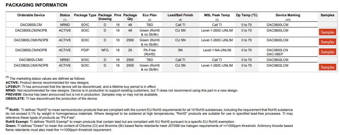 5PCS DAC0800LCN//NOPB IC CONVERTER D//A 8BIT 16-DIP DAC0800 DAC0800L 0800L DAC0800