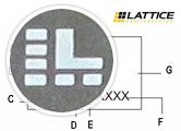 GAL22V10B-15LP Example Part Markings