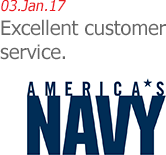 America's Navy - Excellent Customer Service