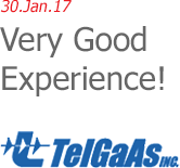 TelGaAs Inc. - Very Good Experience!