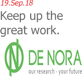 19.Sep.18 | DeNora Water Technologies - Keep up the great work.